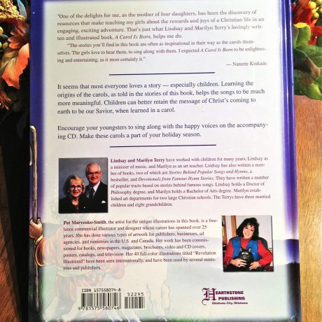 A Carol Is Born back cover