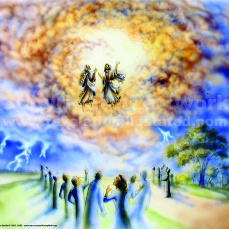 The Two Witnesses Taken Up Into Heaven