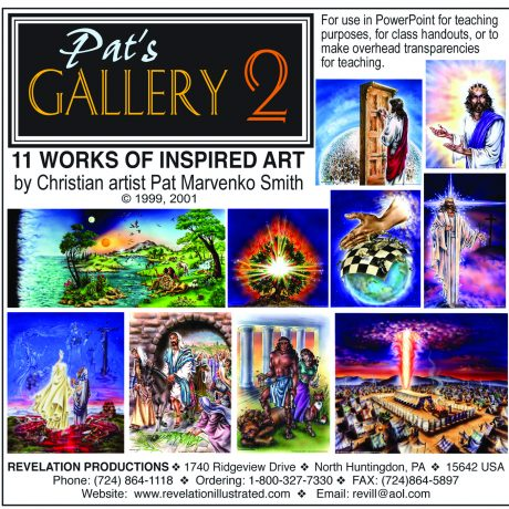 Pat's Gallery 2 jewel case front cover