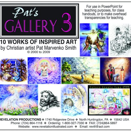 Pat's Gallery 3 jewel case front cover