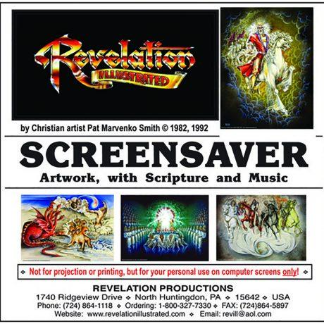 Screensaver jewel case front